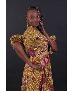 Afrikaanse klok jurk