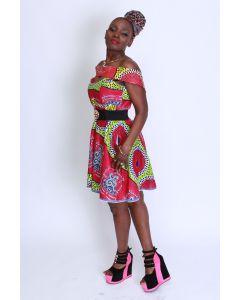 African Fetich jurk